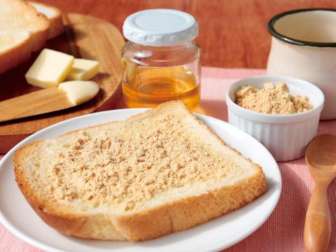 タンパク質が豊富なきなこでヘルシー朝食